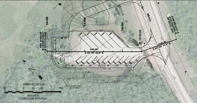 Construction Plan for Base Parking Area